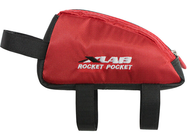 XLAB Rocket Pocket Bolsa bicicleta, red